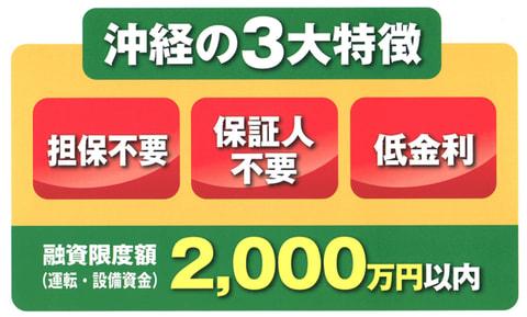 沖縄雇用・経営基盤強化資金貸付(沖経資金)