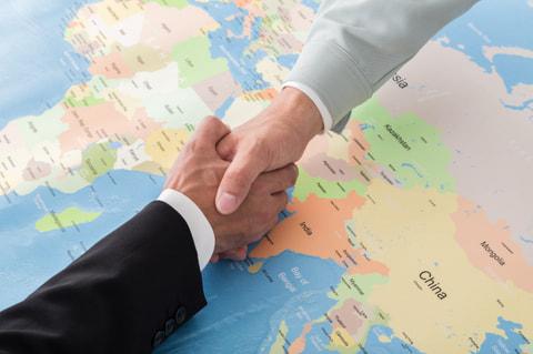 中小機構の海外展開支援業務